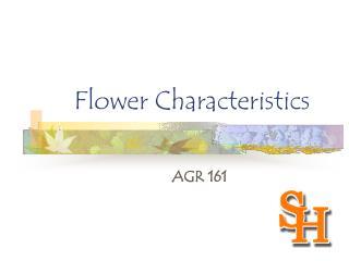 Flower Characteristics