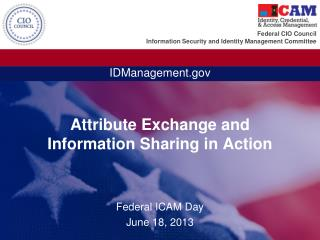 Attribute Exchange and Information Sharing in Action