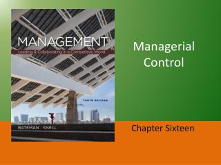 Managerial Control