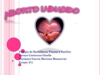 ABORTO I N DUCIDO
