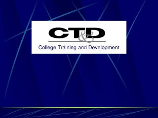 College Training and Development