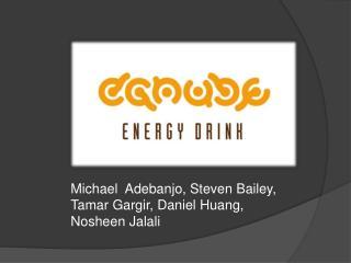 Michael  Adebanjo, Steven Bailey, Tamar Gargir, Daniel Huang, Nosheen Jalali