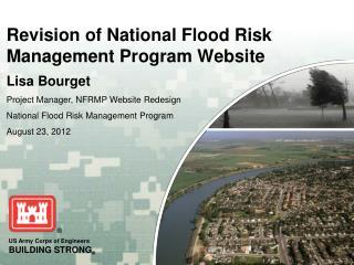 Revision of National Flood Risk Management Program Website