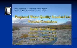 Alaska Department of Environmental Conservation