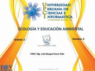 PROF.  Mg.  Lola Margot Poma Tello