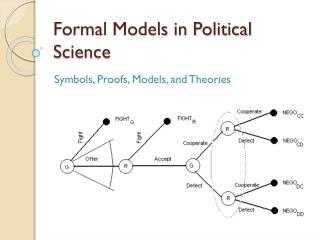 Formal Models in Political Science