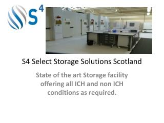 S4 Select Storage Solutions Scotland