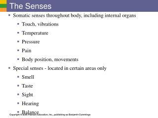 The Senses