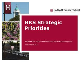 HKS Strategic Priorities
