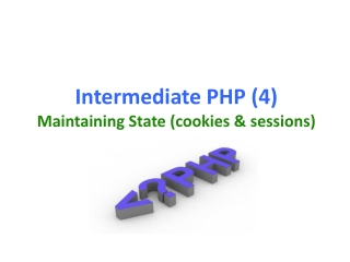 Maintaining State in PHP Part II - Sessions