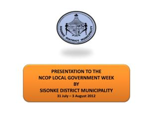 SISONKE DISTRICT MUNICIPALITY