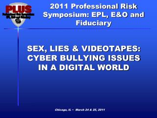 SEX, LIES & VIDEOTAPES: CYBER BULLYING ISSUES IN A DIGITAL WORLD