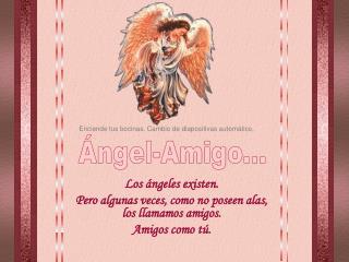 Ángel-Amigo...
