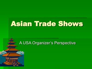 Asian Trade Shows