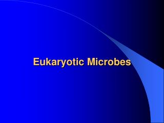 Eukaryotic Microbes