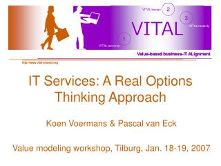 IT Services: A Real Options Thinking Approach