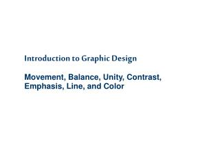 Graphic Design Presentation