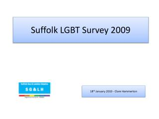 Suffolk LGBT Survey 2009