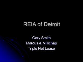 REIA of Detroit