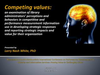 Competing values: