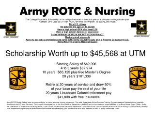 Army ROTC & Nursing