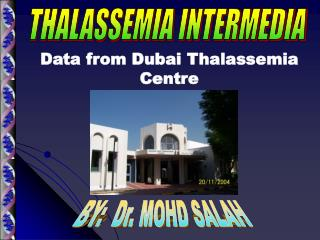 BY:  Dr. MOHD SALAH