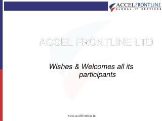 ACCEL FRONTLINE LTD