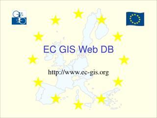 EC GIS Web DB