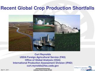 Recent Global Crop Production Shortfalls