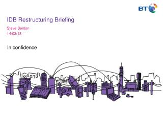 IDB Restructuring Briefing