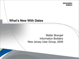 What's New With Dates
