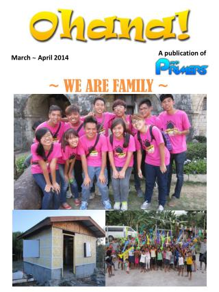 March  ~  April 2014
