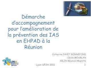 Démarche d'accompagnement pour l'amélioration de la prévention des IAS en EHPAD à la Réunion