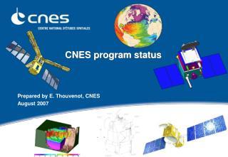 CNES program status