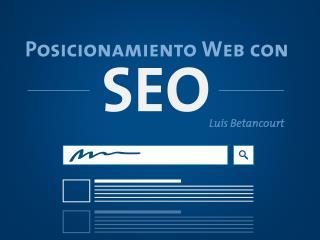 Posicionamiento Web con