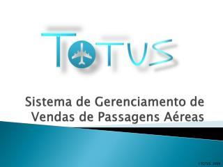 Sistema  de  Gerenciamento  de  Vendas  de  Passagens Aéreas