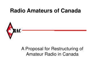 Radio Amateurs of Canada