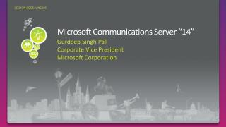 Microsoft Communications Server  14