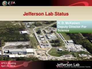 Jefferson Lab Status