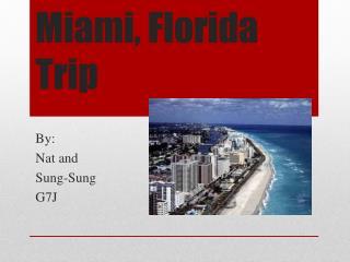 Miami, Florida Trip