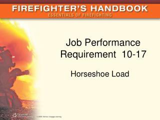 Job Performance Requirement  10-17