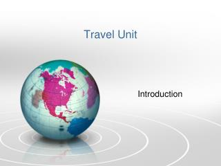 Travel Unit