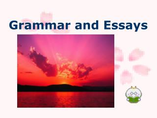 Grammar and Essays