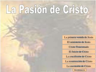 La Pasión de Cristo