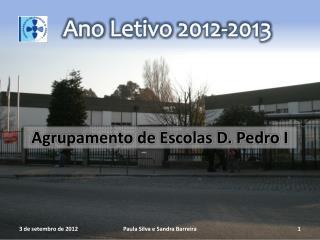 Ano  Letivo  2012-2013