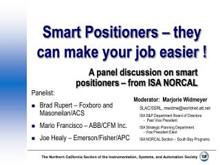 Smart Positioners   they can make your job easier