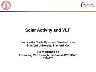 Solar Activity and VLF