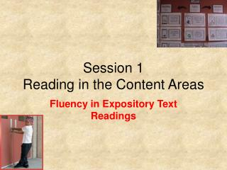 Session 1 Reading in the Content Areas