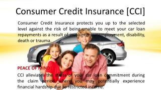Consumer Credit Insurance [CCI]