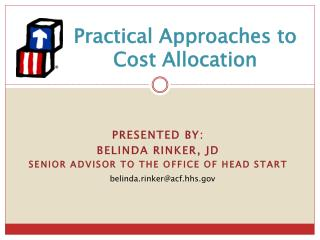 Practical Approaches to Cost Allocation